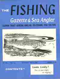 Image for THE FISHING GAZETTE & SEA ANGLER;  July, 7, 1962- Dec. 29, 1962, 26 Issues