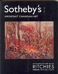 Image for IMPORTANT CANADIAN ART; May 30,2005, Sale No.743
