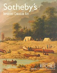 Image for IMPORTANT CANADIAN ART; November 22,2004, Sale No 729