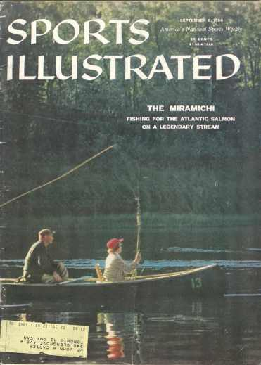 Image for SPORTS ILLUSTRATED, Sept. 8, 1958. The Miramichi
