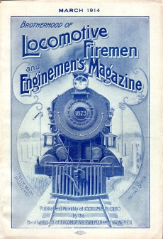 Image for BROTHERHOOD of LOCOMOTIVE FIREMEN and ENGINEER'S MAGAZINE, March 1914, Vol. 56, No. 3