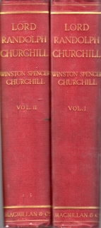 Image for LORD RANDOLPH CHURCHILL; 2 Volumes