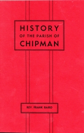 Image for HISTORY OF THE PARISH OF CHIPMAN