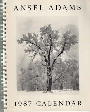 Image for Ansel Adams engagement calendar 1987