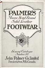 Image for Palmer's Moose Head brand solid leather footwear, General Catalogue Number 52; 1929,