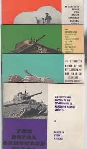 Image for ROYAL ARMOURED CORPS TANK MUSEUM ; 4  Books, ;Armoured Cars 1900-1963; the Inter War Period 1919-1939;the Secomd  World War ,1940-46, Tanks of Other Nations ,
