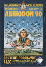 Image for Abingdon 90 Souvenir Programme; 50 Anniversary , Battle of Britain