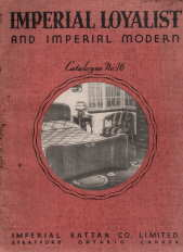 Image for Imperial Loyalist and Imperial Modern catalogue, 1938?