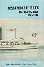 Image for STEAMBOAT DAYS : an illustrated history of the steamboat era on the St. John River, 1816-1946