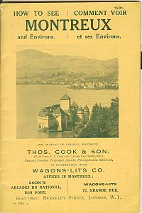 Image for HOW TO SEE MONTREUX AND ENVIRONS