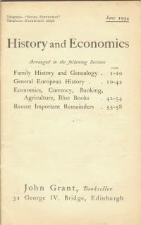 HISTORY AND ECONOMICS