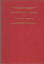 Image for ADVENTURES IN ERROR; Signed By Stefansson