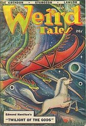 Image for WEIRD TALES, July 1948