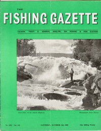Image for THE FISHING GAZETTE & SEA ANGLER; 20 Issues, Aug 15/59  to Dec. 26/59